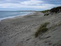Praia de Sandnes, Noruega Imagem de Stock