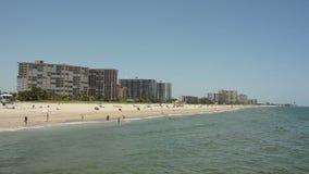 Praia de Sandy Florida Imagens de Stock