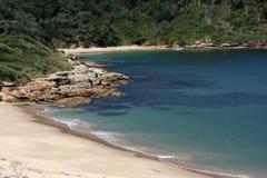 Praia de Sandy - louro da Botânica, Sydney, Austrália Fotos de Stock Royalty Free