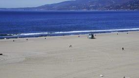 Praia de Santa Monica vídeos de arquivo