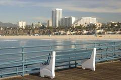 Praia de Santa Monica Fotografia de Stock