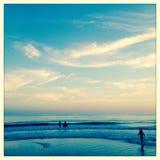 Praia de Santa Rosa em Florida Fotografia de Stock