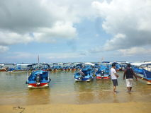 Praia de Sanur Imagem de Stock