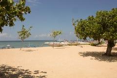 Praia de Sanur, Bali, Indonésia Foto de Stock