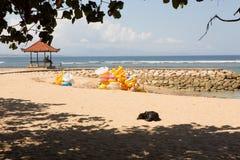 Praia de Sanur, Bali, Indonésia Imagem de Stock