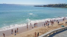 Praia de sao Pedro; Estoril; Portugal imagens de stock royalty free