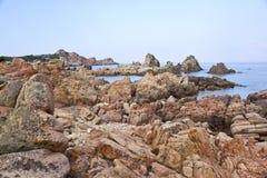 Praia de Sardinia Imagens de Stock