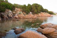 Praia de Sardinia fotografia de stock