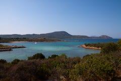 Praia de Sardinia Imagem de Stock Royalty Free
