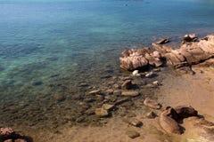 Praia de Sardinia Fotografia de Stock Royalty Free
