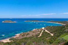Praia de Sardinia foto de stock royalty free