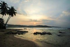Praia de Sawarna Fotos de Stock Royalty Free