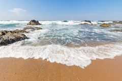 Praia de Seffield Fotografia de Stock Royalty Free