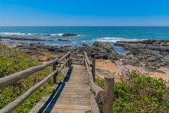 Praia de Seffield Imagem de Stock