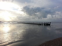 Praia de Selsey Imagem de Stock Royalty Free