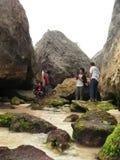 Praia de Sepanjang Foto de Stock Royalty Free