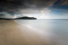 Praia de Serapo Imagem de Stock Royalty Free