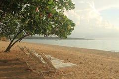 Praia de sete milhas Jamaica, Negril Fotos de Stock Royalty Free
