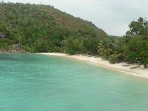 Praia de Seychelles Foto de Stock