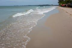Praia de Sihanoukville fotografia de stock