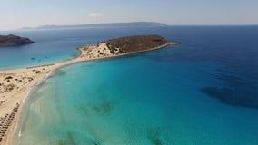 Praia de Simos Foto de Stock Royalty Free