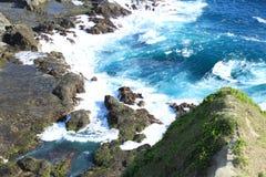 Praia de Siung Imagens de Stock