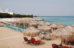 Praia de Skala, Agistri Imagem de Stock