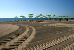 Praia de Skala, Kefalonia Imagem de Stock Royalty Free