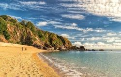 Praia de Slapton Fotografia de Stock