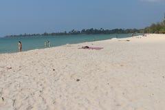 Praia de Sokha Foto de Stock Royalty Free