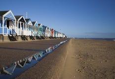 Praia de Southwold, Suffolk Foto de Stock