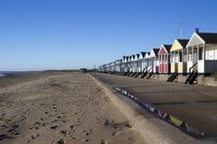 Praia de Southwold, Suffolk, Inglaterra Imagens de Stock Royalty Free