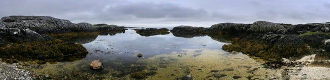 Praia de Spiddal Fotografia de Stock
