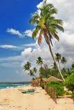 Praia de Sri lanka Imagens de Stock