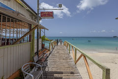 Praia de St Martin Imagens de Stock Royalty Free