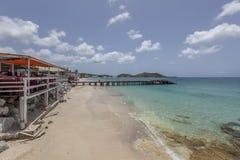 Praia de St Martin Fotos de Stock Royalty Free