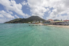 Praia de St Martin Fotos de Stock