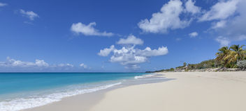 Praia de St Martin Fotografia de Stock