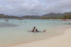 Praia de St Martin Fotografia de Stock Royalty Free