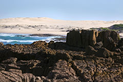 Praia de Stockton Imagem de Stock Royalty Free