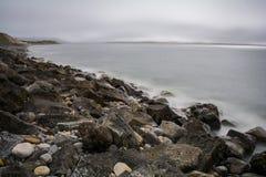 Praia de Strandhill em Sligo na Irlanda Imagens de Stock