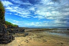 Praia de Streedagh imagens de stock