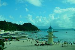 Praia de SunLiaoWan Fotografia de Stock