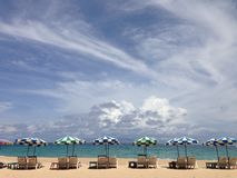 Praia de Surin, Phuket, Tailândia Fotografia de Stock