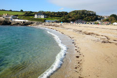 Praia de Swanpool. Fotos de Stock Royalty Free