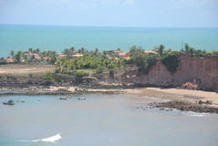 Praia de Tabatinga fotografia de stock