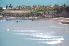 Praia de Tabatinga imagens de stock royalty free