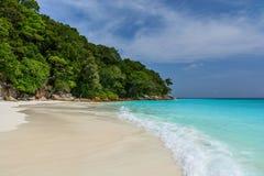 Praia de Tachai imagem de stock royalty free