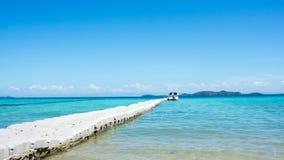 Praia de Tailândia fotografia de stock