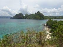 Praia de Talisay Imagem de Stock Royalty Free